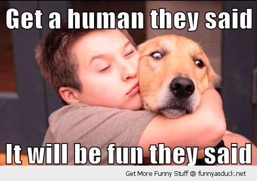 funny-upset-sad-dog-get-human-cuddling-hugging-fun-pics
